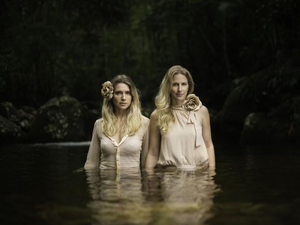 Letícia Spiller estreia ao lado de Caru Ricardo o show Não Deveria se Chamar (Foto: Frederic Jean Laouenan e Evelin Santos)