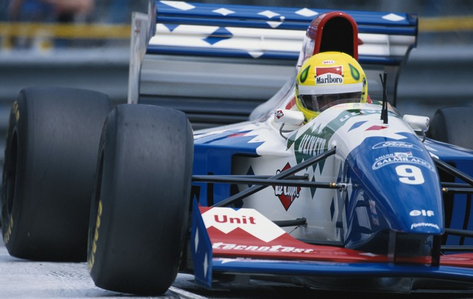 Christian Fittipaldi Fórmula 1 F-1 1994 (Foto: Getty Images)
