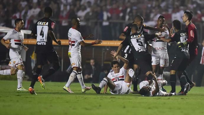 São Paulo x Atlético-MG (Foto: Marcos Ribolli)