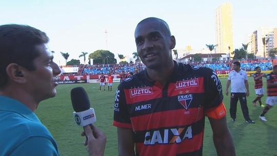 Marllon exalta vitória do Atlético-GO  e cita façanhas do clube na Série B