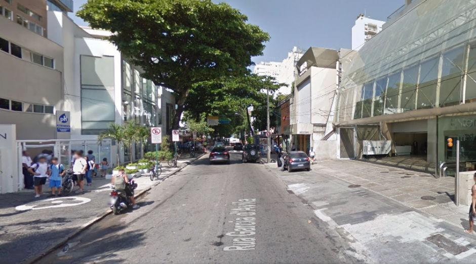 A rua tem 39º aluguel mais caro do mundo, de R$ 325 mensais por metro quadrado, em média (Foto: GoogleMaps)