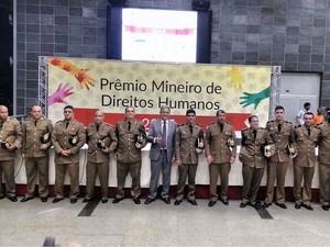 Prêmio Mineiro de Direitos Humanos (Foto: PM Juiz de Fora/Divulgação)