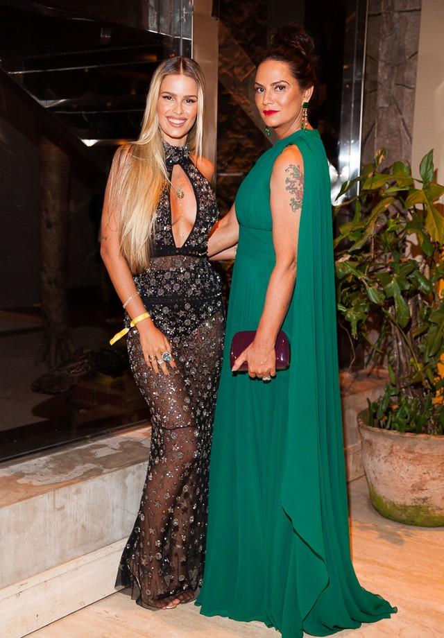 Luiza e Yasmine Brunet (Foto: Arthur Vahia)