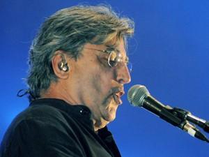 Ivan Lins canta no Palco Sunset neste domingo (15) (Foto: Alexandre Durão/G1)