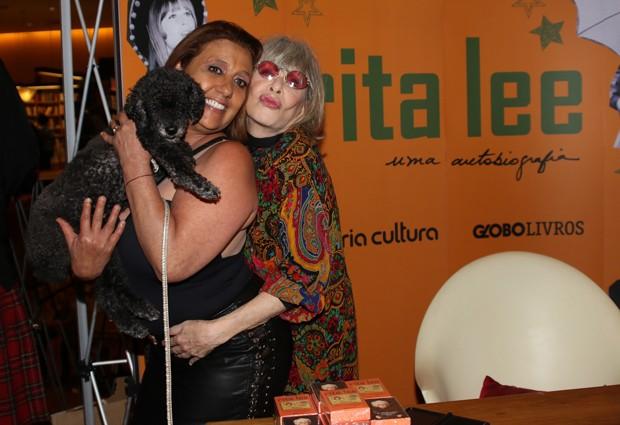 Rita Cadillac e Rita Lee (Foto: Thiago Duran/AgNews)