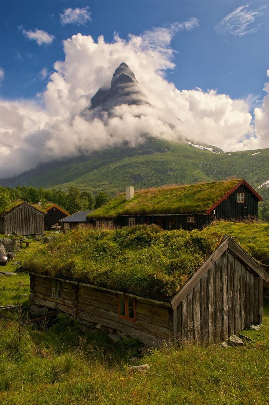 Renndølsetra, na Noruega (Foto: Divulgação)