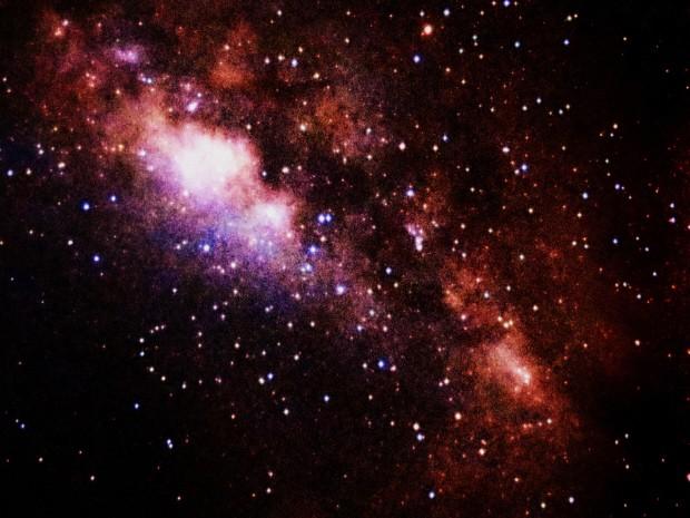 Moradora do litoral sul de São Paulo, registrou imagens da Via Láctea do céu de Itanhaém. (Foto: Meire Ruiz/Arquivo pessoal)