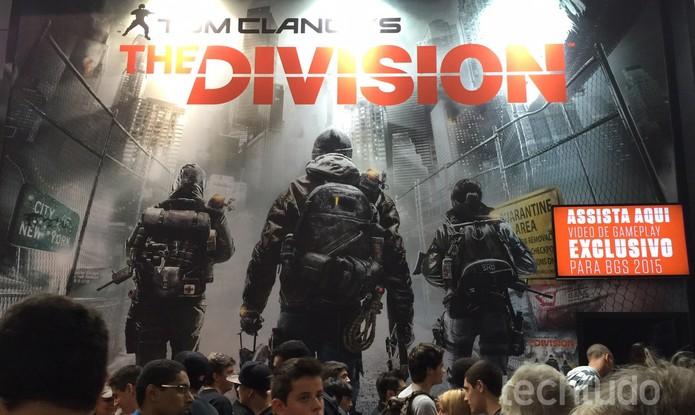 The Division BGS2015 (Foto: Victor Teixeira/ TechTudo)