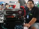 Estreante diz que fez computador de R$ 30 mil para Campus Party