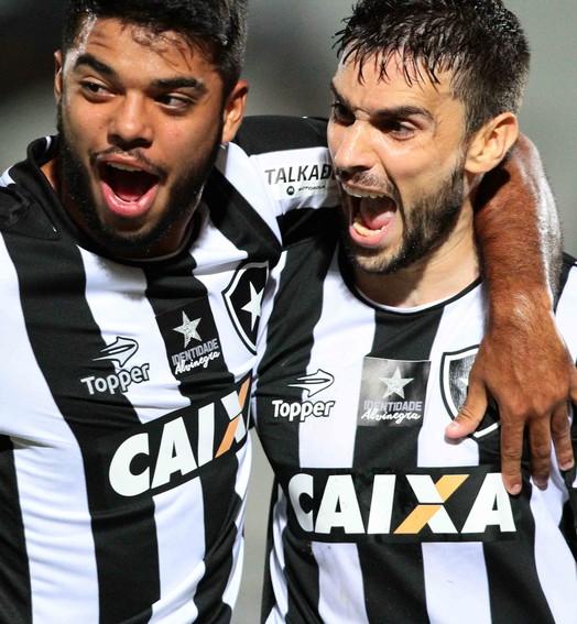 Mais um gol nos minutos finais d� a vit�ria ao Botafogo