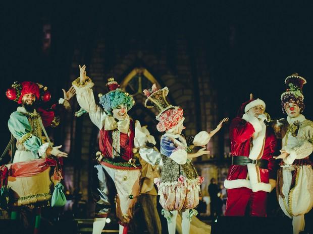 Show conta com música, dança e acrobacia (Foto: Sergio Azevedo/Divulgação)