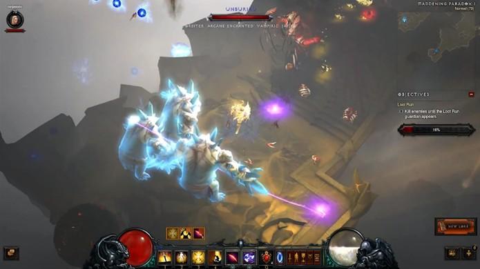 Prepare-se para voltar ao mundo de Diablo 3 para ainda mais diversão (Foto: Reprodução)