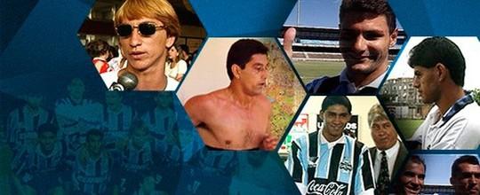 Felipão torceu nariz para Paulo Nunes e outras histórias do time improvável que entrou para história do Grêmio (Editoria de Arte)