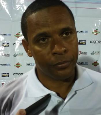 Wagner Nascimento, técnico do Espírito Santo (Foto: Reprodução/GloboEsporte.com)