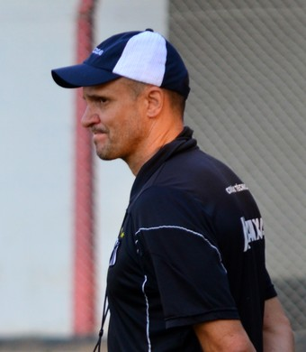 Wagner Lopes técnico Bragantino (Foto: Danilo Sardinha/GloboEsporte.com)