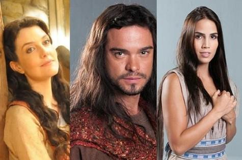 Larissa Maciel, Sidney Sampaio e Pérola Faria (Foto: Reprodução)