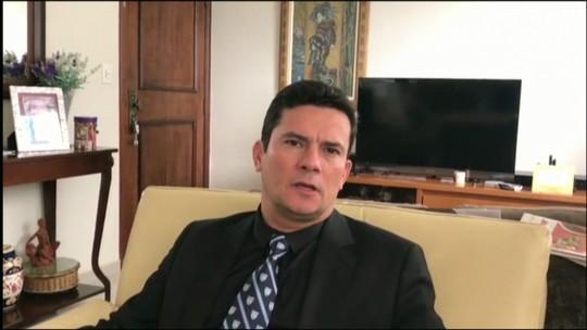 Sérgio Moro grava vídeo agradecendo apoio da população na Lava Jato