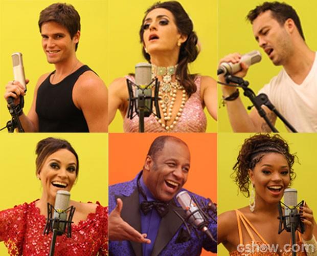 Feras do Artista Completão (Foto: Pedro Curi / TV Globo)