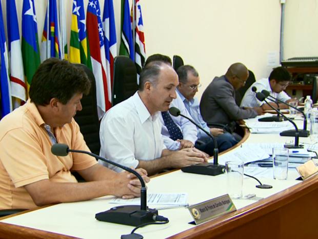 Câmara rejeitou projeto de redução de salário de vereadores em Guaxupé (Foto: Reprodução EPTV)