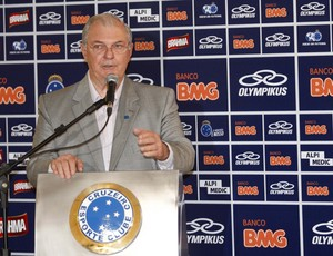 Gilvan de Pinho Tavares, presidente do Cruzeiro (Foto: Washington Alves / Vipcomm)