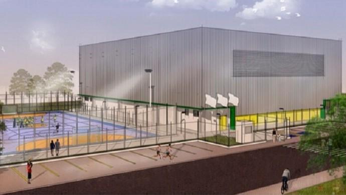 No AP, Centro de Iniciação ao Esporte será construído só após as eleições (Foto: Divulgação/Comel)