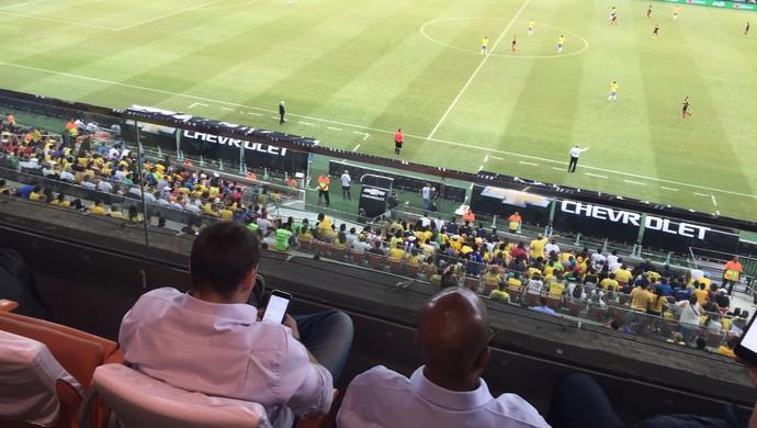 Arthur Zanetti jogo da Seleção Manaus (Foto: Gabriel Mansur)