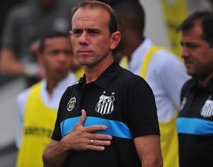 Kleiton Lima, técnico do Santos B (Foto: Ivan Storti/Santos FC)