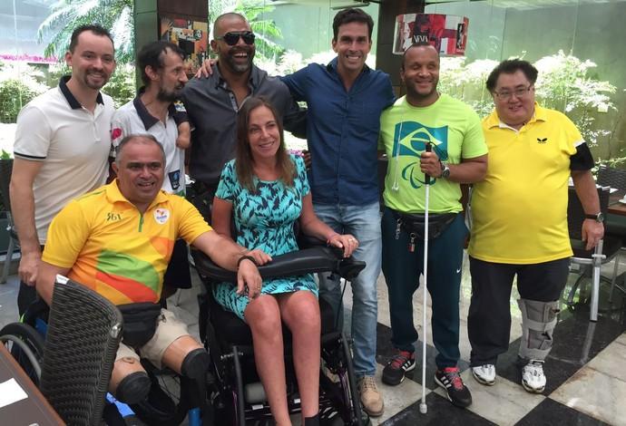 atletas paralímpicos mara gabrilli (Foto: Reprodução Facebook)
