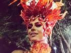 Thaila Ayala comenta fantasia para desfile da Gaviões: 'Como o fogo'