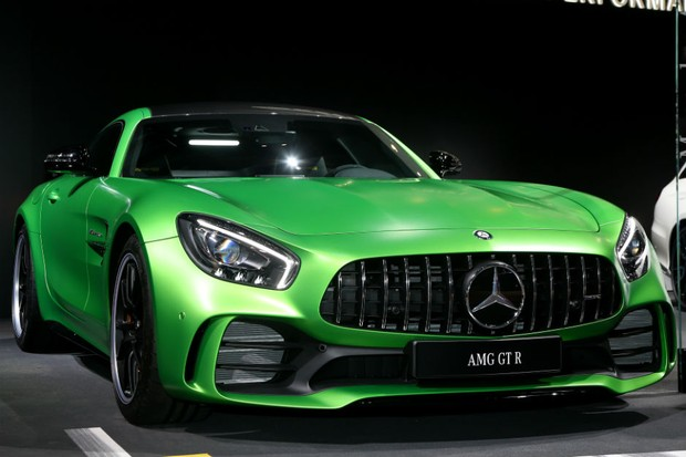 Mercedes AMG GT R (Foto: Newspress)