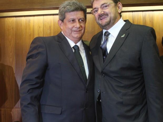 Zé Filho e Wilson Martins foram denunciados por esquema de lavagem de dinheiro  (Foto: Catarina Costa/G1)