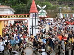 Bauernfest , em Petrópolis, RJ (Foto: Isabela Lisboa)