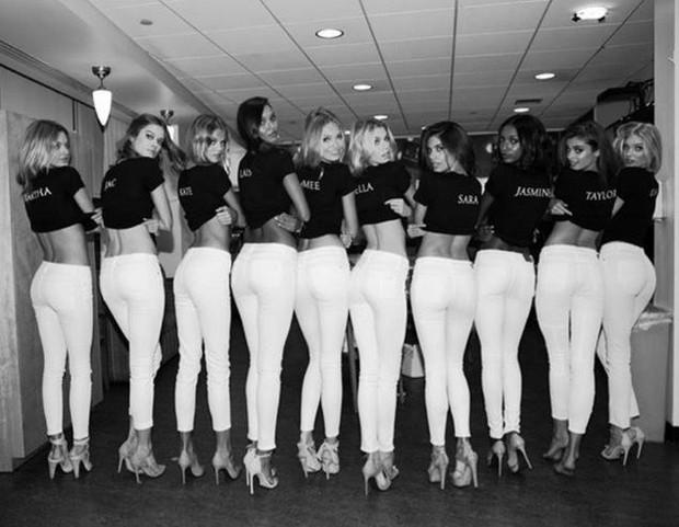 As novas angels da Victoria's Secret: Lais Ribeiro, Jac Jagaciak, Sara Sampaio, Stella Maxwell, Elsa Hosk, Romee Strijd, Jasmine Tookes, Taylor Hill, Martha Hunt e Kate Grigorieva  (Foto: Reprodução do Instagram)