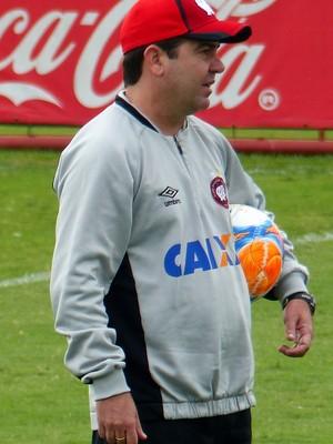 Enderson Moreira Atlético-PR (Foto: Monique Silva)