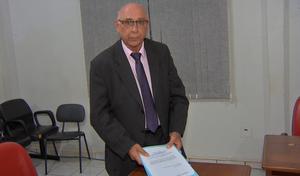 Elpidio Moretti advogado do Sinop (Foto: Reprodução/TVCA)
