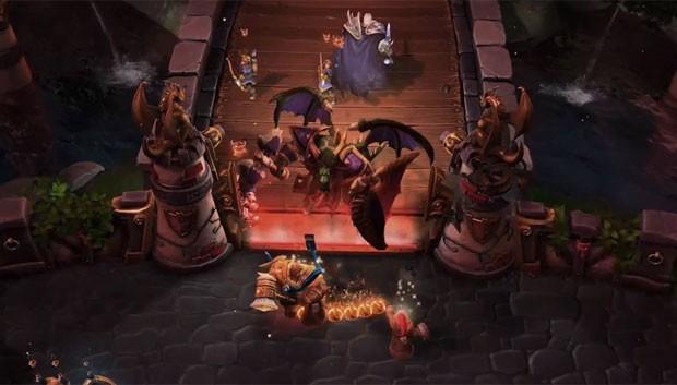 'Heroes of the Storm' traz batalhas com heróis e vilões dos jogos da Blizzard (Foto: Divulgação/Blizzard)