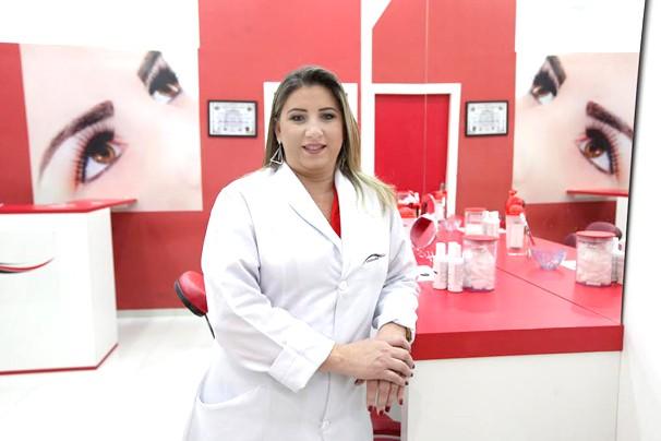 Luzia Costa abriu rede milionária de franquia (Foto: Divulgação)