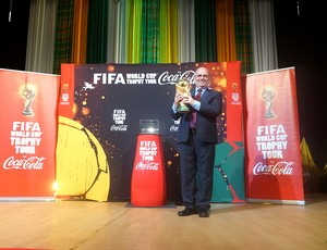 tour da Taça Copa do Mundo em Montserrat (Foto: Joel Robinson)