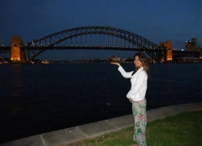 Raquel Conforte mora na Australia desde 2011 (Foto: Raquel Conforte/ Arquivo Pessoal)