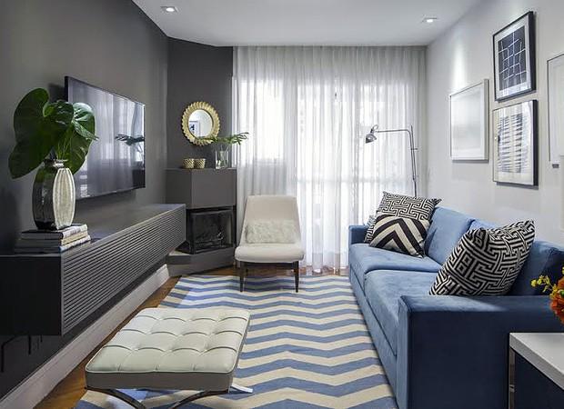 10 ideias do arquiteto para decoraç u00e3o de uma sala pequena Casa e Jardim Decoraç u00e3o -> Decoração Rack Para Sala Pequena