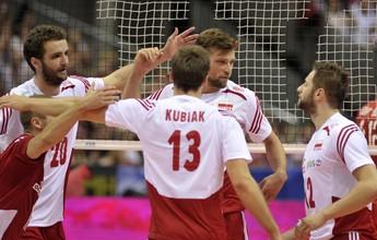 Polônia atropela Rússia em duelo de potências no início da Liga Mundial