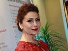 Giovanna Antonelli escolhe vestido com transparência para evento no Rio