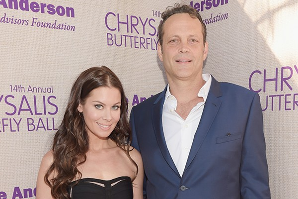 Kyla Weber e Vince Vaughn (Foto: Getty Images)