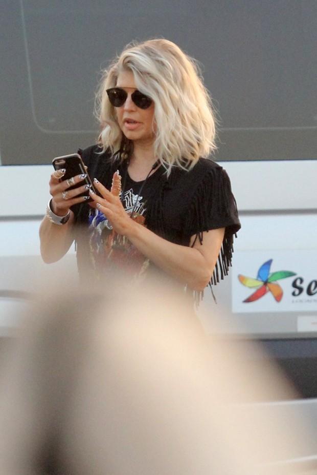 Fergie (Foto: Wallace Barbosa/AgNews)