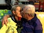 Casal se reencontra em asilo após 65 anos (Reprodução/RBS TV)