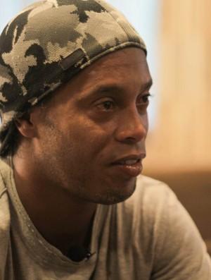 Ronaldinho em entrevista ao site oficial do Barcelona