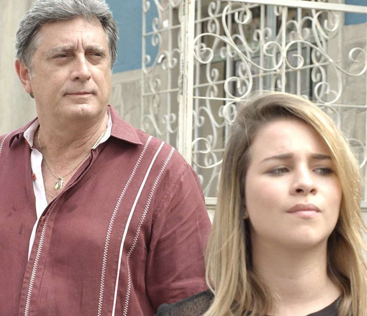 Jorge diz que terá um assistente durante o churrasco (Foto: TV Globo)