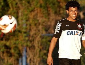 Romarinho treino Corinthians Argentina Boca Juniors (Foto: Rodrigo Coca / Agência Corinthians)