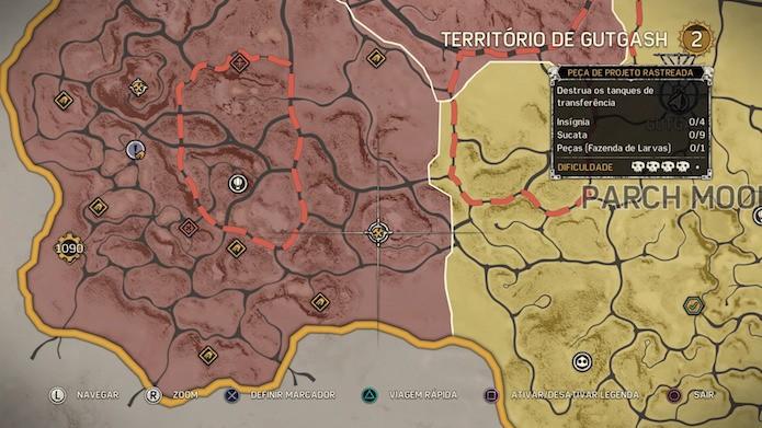 Peças dos projetos podem ser rastreadas facilmente no mapa (Foto: Reprodução/Victor Teixeira)