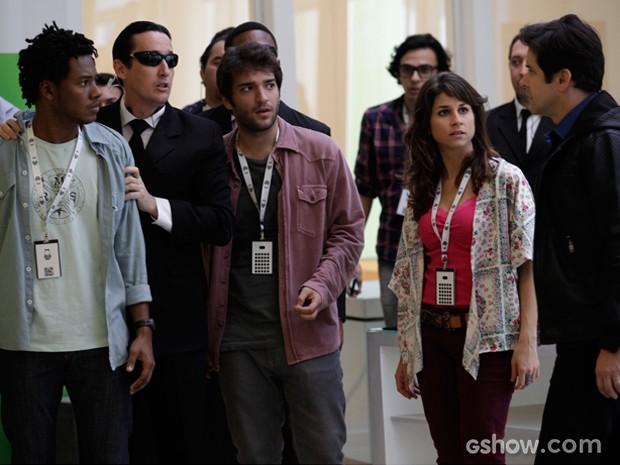 Jonas fica decepcionado com Matias e o demite (Foto: Raphael Dias/TV Globo)